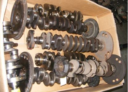 Picture of Mercedes  crankshafts, used and new